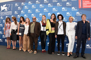 """Cast and Crew attend the """"La Vita Oscena"""" photocall during the 71st Venice Film Festival on August 28, 2014 in Venice, Italy."""