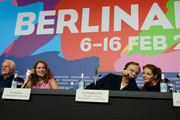 (L-R) Actor Andre Dussollier, actress Lea Seydoux, director Christophe Gans and actress Yvonne Catterfeld attend the 'La belle et la bete' (Die Schoene und das Biest) press conference during 64th Berlinale International Film Festival at Grand Hyatt Hotel on February 14, 2014 in Berlin, Germany.