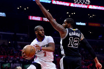 LaMarcus Aldridge San Antonio Spurs v Los Angeles Clippers