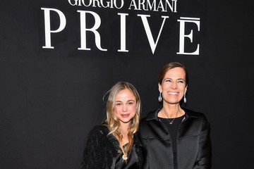 Lady Amelia Windsor Giorgio Armani Prive: Front Row - Paris Fashion Week - Haute Couture Spring Summer 2018