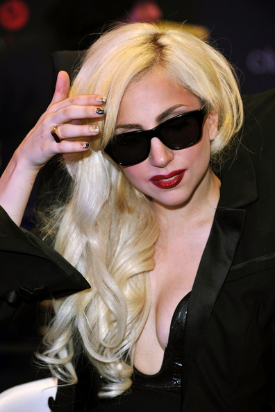 """Lady Gaga CD Signing For """"Monster"""" At Best Buy"""