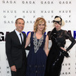 Jeff Koons and Lady Gaga Photos