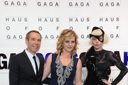Jeff Koons and Lady Gaga Photos Photo