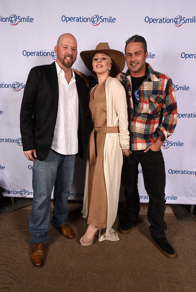 Operation Smile  Host's 5th Annual Park City 'Celebrity Ski & Smile Challenge' Presented By The Rodosky Family [celebrity ski smile challenge,event,fashion,premiere,suit,white-collar worker,carpet,award,the rodosky family,david coleman,lady gaga,taylor kinney,5th annual park city,utah,tupelo,operation smile host]