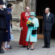 Lady Louise Windsor The Royal Family Attend Easter Day Service in Windsor