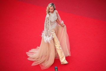 """Lady. """"France"""" Red Carpet - The 74th Annual Cannes Film Festival"""