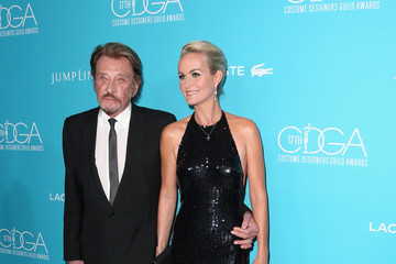 Laeticia Hallyday 17th Costume Designers Guild Awards With Presenting Sponsor Lacoste - Arrivals