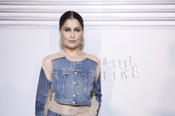 Laetitia Casta Jean-Paul Gaultier - 50th Birthday Cocktail And Party - Photocall