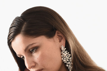 Laetitia Casta Laetitia Casta Backstage at Kering Suite During the 70th Cannes Film Festival