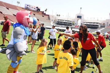 Laila Ali Children's Hospital Los Angeles Hosts Inaugural Play LA Fundraiser At The LA Coliseum