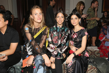Lainy Hedaya Sachin & Babi - Front Row - September 2017 - New York Fashion Week