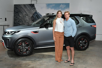 Laird Hamilton Jaguar Land Rover Introduces Three New Vehicles From Its Special Vehicle Operations Division, Including Global Debut Of Top Of The Line 2018 Range Rover SVAutobiography
