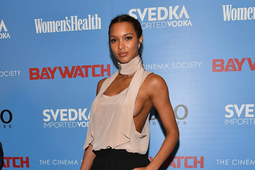 "Lais Ribeiro The Cinema Society Hosts a Screening of ""Baywatch"""