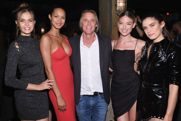 Lais Ribeiro Martha Hunt Russell James And Ed Razek Host U.S. Book Launch Of 'Backstage Secrets By Russell James'