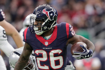 Lamar Miller Wild Card Round - Oakland Raiders v Houston Texans