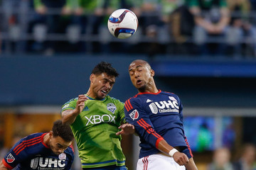 Lamar Neagle New England Revolution v Seattle Sounders