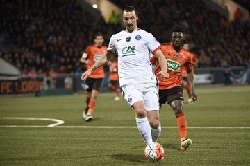Lamine Gassama Lorient v Paris Saint-Germain - French Cup