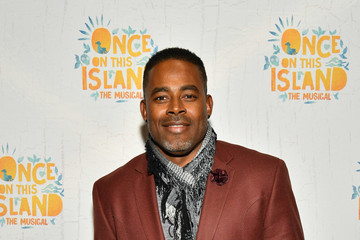 Lamman Rucker 'Once on This Island' Broadway Opening Night - Arrivals & Curtain Call