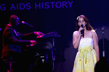 Lana Del Rey Cinema Against AIDS Gala Show