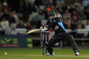 Alexei Kervezee of Worcestershire Rapids in action during the Natwest T20 Blast match between Lancashire Lightning and Worcestershire Rapids at Old Trafford on May 17, 2014 in Manchester, England.