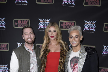 """Lance Bass Opening """"Night Of Rock Of Ages"""" Hollywood At The Bourbon Room"""