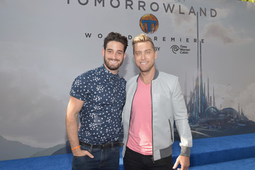 Lance Bass The World Premiere Of Disney's 'Tomorrowland' At Disneyland, Anaheim, CA - Red Carpet