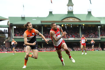 Lance Franklin AFL Second Elimination Final - Sydney vs. GWS