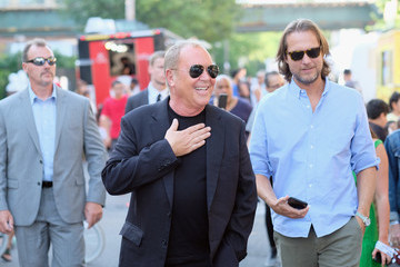 Lance Le Pere Michael Kors And The New York Restoration Project Celebrate The Opening Of The Essex Street Community Garden