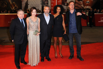 Michelle Yeoh David Thewlis Lancia On The Red Carpet At The 6th International Rome Film Festival