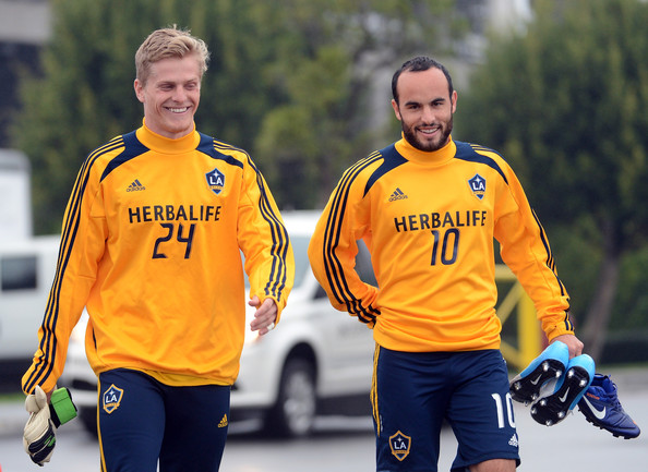 2012 MLS Cup - Los Angeles Galaxy Training Session []