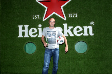 Landon Donovan MLS Heineken Rivalry Week At The Heineken House In Los Angeles