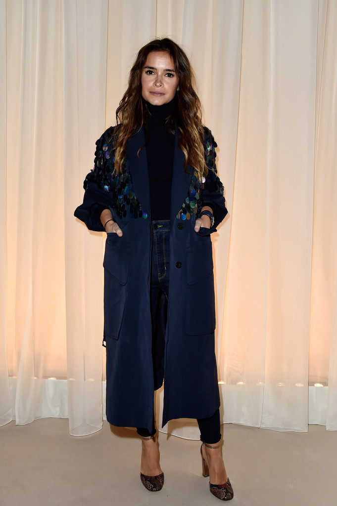 Miroslava Duma Photos Photos Lanvin Front Row Paris