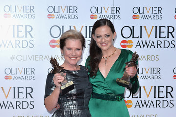 Lara Pulver The Olivier Awards with Mastercard - Winners Room