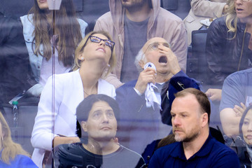 Larry David 2014 NHL Stanley Cup Final - Game One