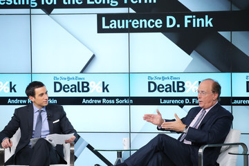 Larry Fink The New York Times 2015 DealBook Conference
