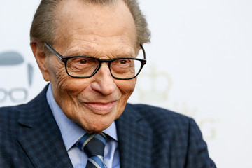 Larry King Larry King's 60th Broadcasting Anniversary Event - Arrivals