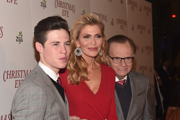 Larry King Cannon King Premiere of 'Christmas Eve' - Red Carpet