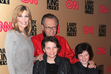 """Larry King Cannon King Larry King's Final CNN """"Larry King Live"""" Broadcast Party - Arrivals"""