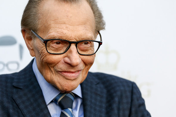 Larry King's 60th Broadcasting Anniversary Event - Arrivals