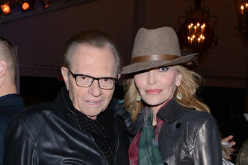 Larry King 2013 Global Citizen Festival in Central Park To End Extreme Poverty - VIP Lounge