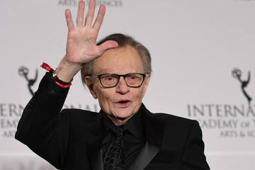 Larry King 45th International Emmy Awards - Press Room