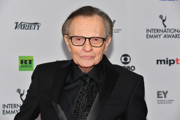 Larry King 45th International Emmy Awards