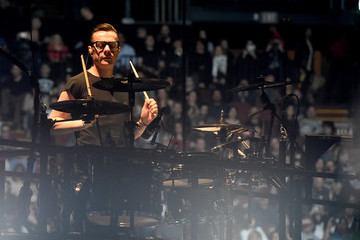 Larry Mullen Jr U2 Performs At The Forum