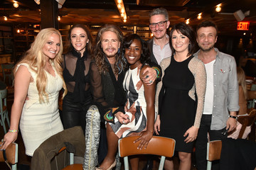 Larry Rudolph Steven Tyler Hosts VIP 'Out on a Limb' Dinner at Catch