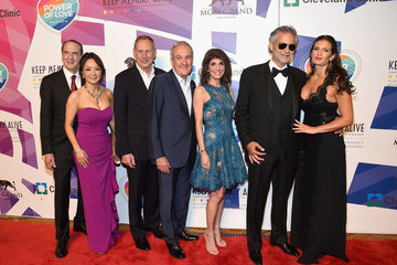Larry Ruvo Keep Memory Alive's 19th Annual 'Power of Love' Gala Honors Andrea & Veronica Bocelli - Red Carpet
