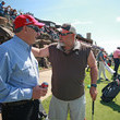 Larry The Cable Guy Bass Pro Shops Legends Of Golf - Round Two
