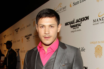 Alex Meraz Las Vegas Premiere Of Michael Jackson THE IMMORTAL World Tour By Cirque du Soleil
