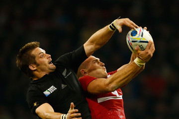 Lasha Malaguradze New Zealand v Georgia - Group C: Rugby World Cup 2015