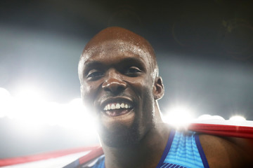 Lashawn Merritt Athletics - Olympics: Day 15