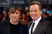 "Richard Linklater (L) and Bryan Cranston attend the Headline Gala Screening & International Premiere of ""Last Flag Flying"" during the 61st BFI London Film Festival on October 8, 2017 in London, England."